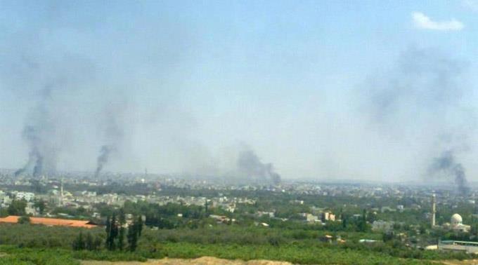Angriffe auf Damaskus. (Archivbild)