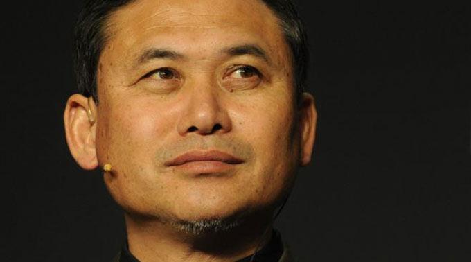 Japans Trainer Norio Sasaki.