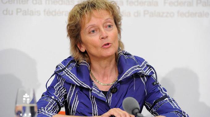 Eveline Widmer-Schlumpf fordert Weitblick.