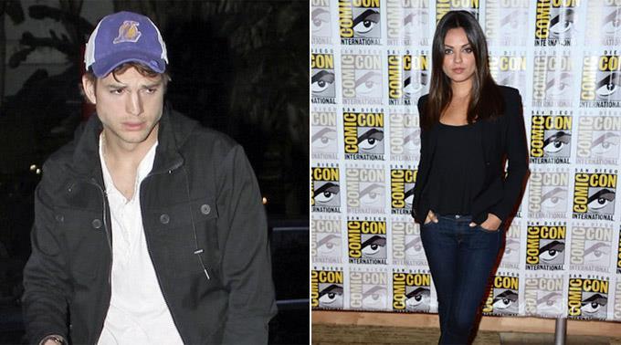 Ashton Kutcher und Mila Kunis.