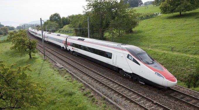 Die Züge des Typs ETR-610 bieten 430 Personen Platz.