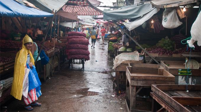 Heftige Regenfälle in Manila. (Archivbild)