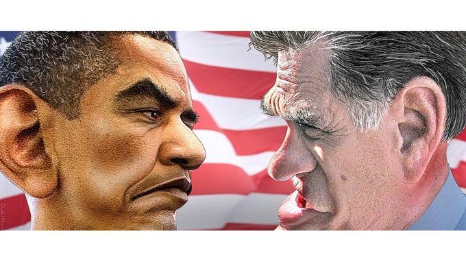 «Don't Mention the World!» Obama und Romney im Wahlkampf