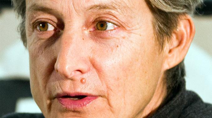 Die jüdisch-amerikanische Philosophin Judith Butler.