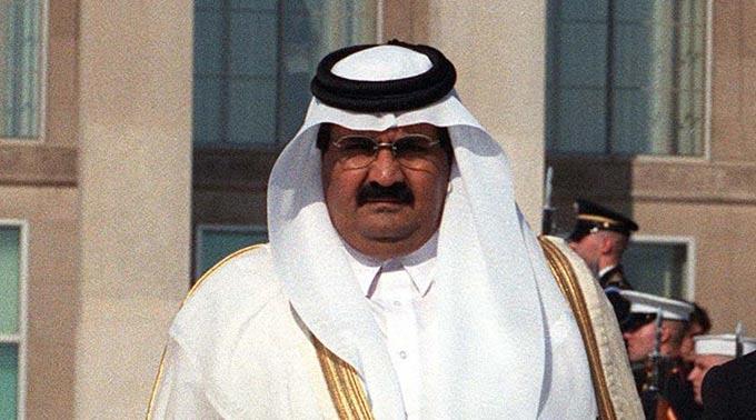 Scheich Hamid bin Khalifa Al-Thani.