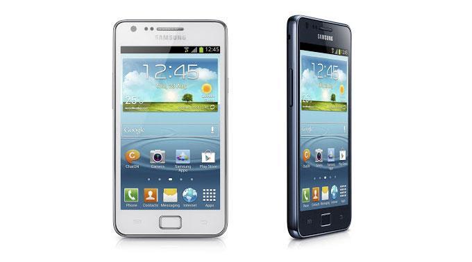Samsung Galaxy S2 Plus.
