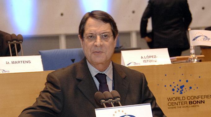 Zyperns Präsident Nicos Anastasiades.