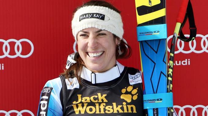 Das Lächeln der strahlenden Siegerin Carolina Ruiz Castillo.