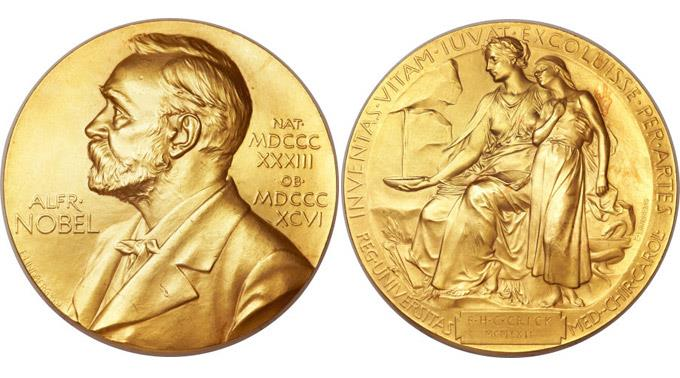 Der Nobelpreis von Francis Crick.