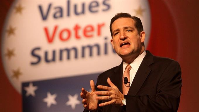 Cruz ist Senator im US-Bundesstaat Texas.