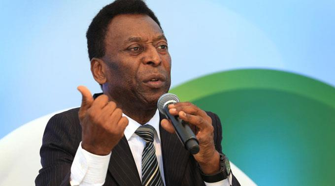 Fussball-Legende Pelé.