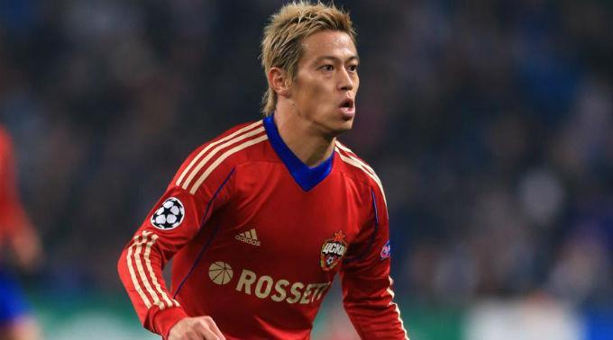Keisuke Honda verlässt Russland.