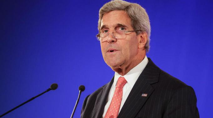 John Kerry präsentierte am WEF, was sich im letzten Jahr gut entwickelt hat.