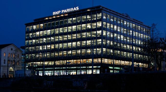BNP Paribas machte einen fetten Gewinn.