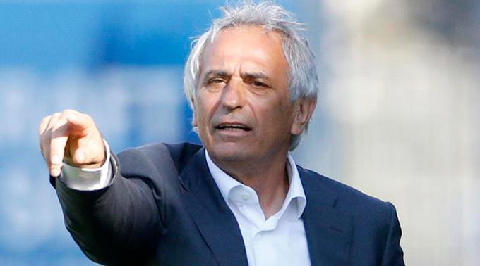 Algeriens Trainer Yahid Halilhodzic.