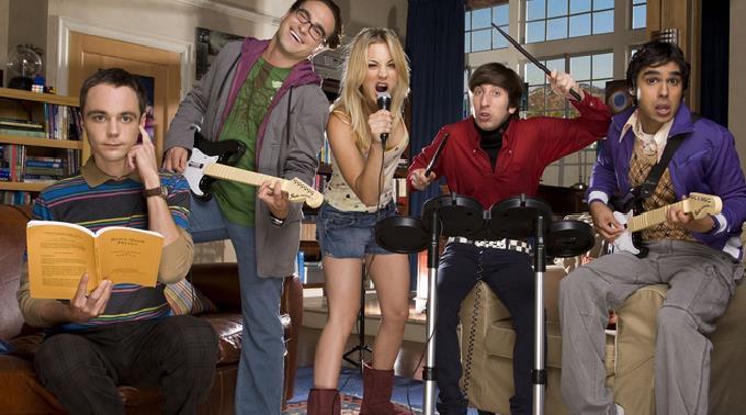 Romantik-Killer? Der Cast der Sitcom The Big Bang Theory.