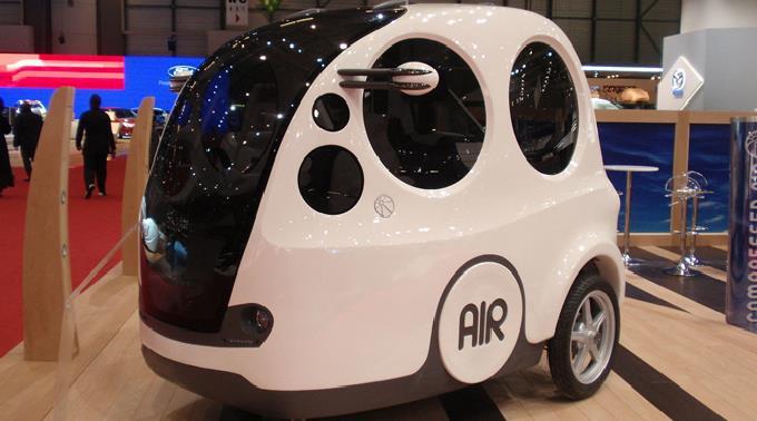 Emissionsarmes Fahrzeug mit innovativer Antriebstechnik