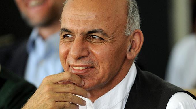 Aschraf Ghani.