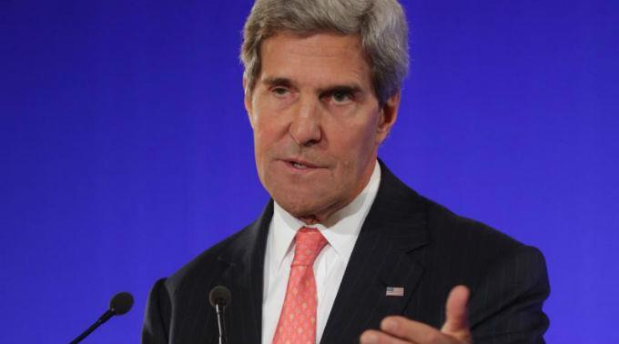 John Kerry sieht die Schuld eindeutig auch bei Russland.