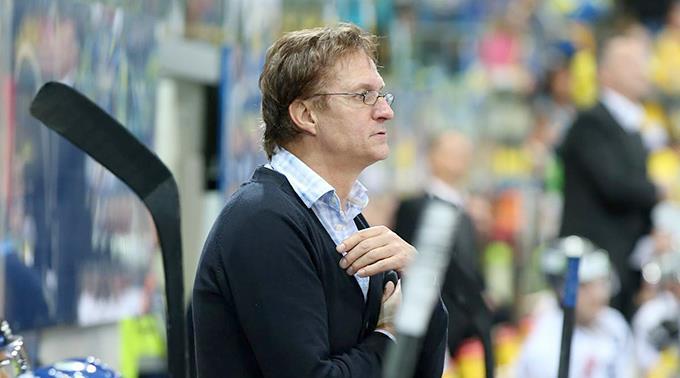 Davos Trainer Arno Del Curto.