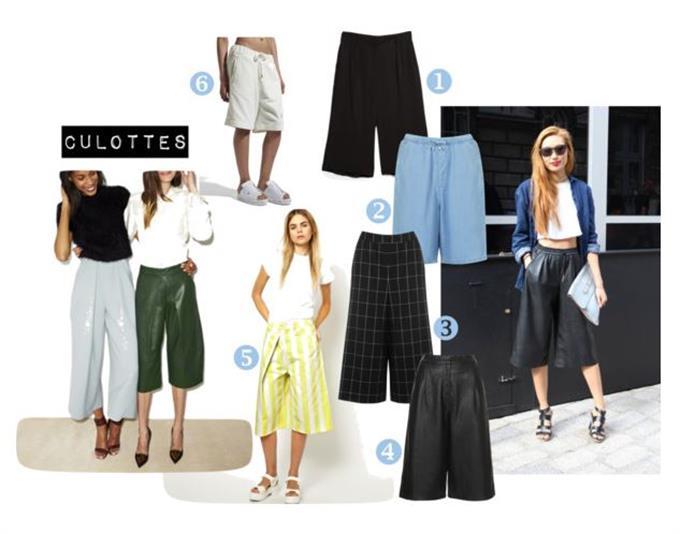 «Culottes» - voll im Trend!