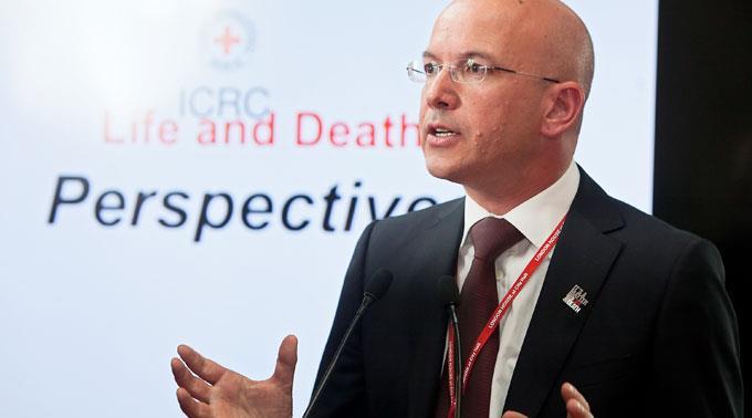 IKRK-Generaldirektor Yves Daccord. (Archivbild)