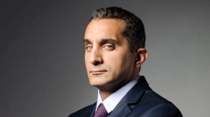 Bassem Jussef, ägyptischer Komiker.