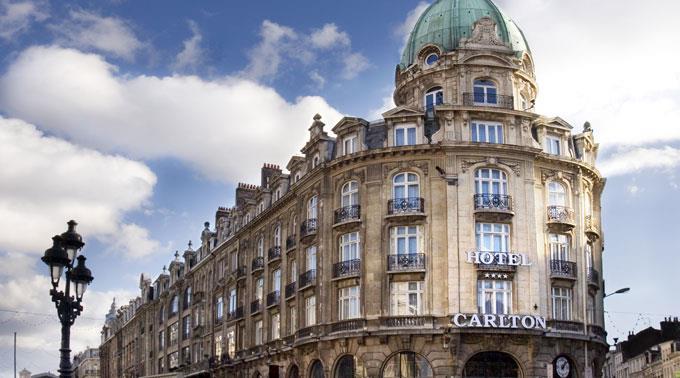 Das Hotel Carlton de Lille. (Archivbild)