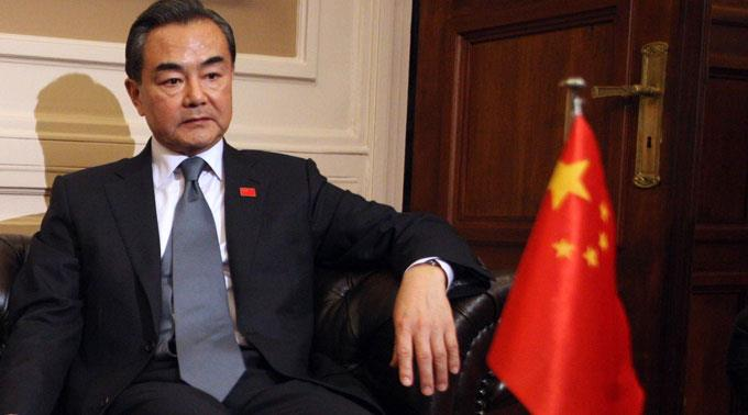 Chinas Aussenminister Wang Yi.
