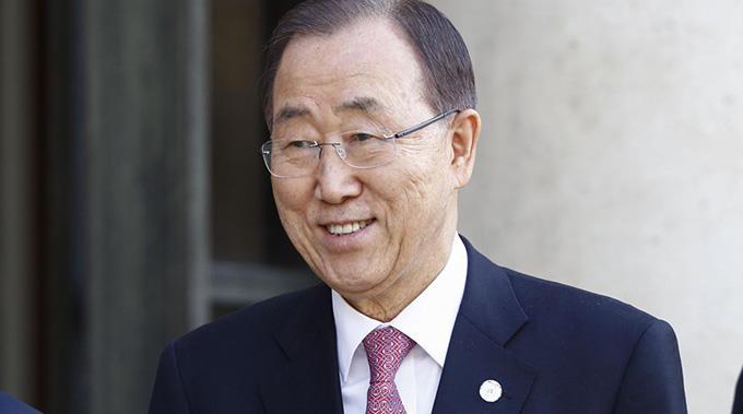 Ban Ki Moon möchte Frieden im Nahost.