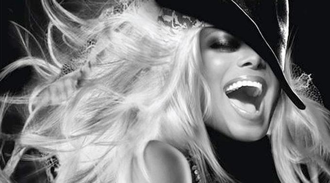Janet Jackson ist in Brasilien.