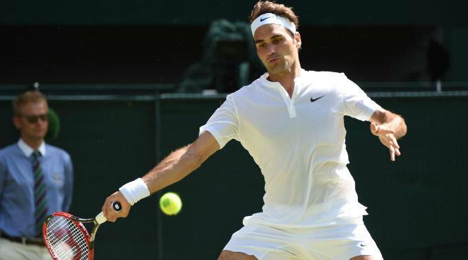 Roger Federer wird auf Gilles Simon treffen.