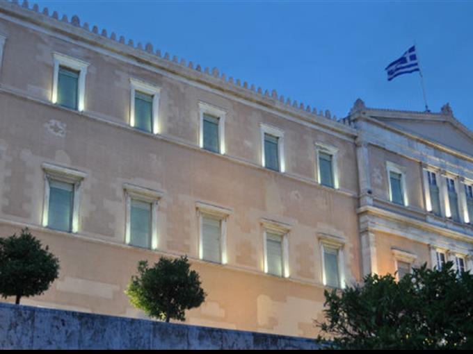 Griechenlands Parlament begrüsst Palästina als unabhängiger Staat.