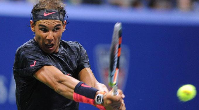 Trainieren, trainieren, trainieren - ist derzeit das Motto von Rafael Nadal. (Archivbild)