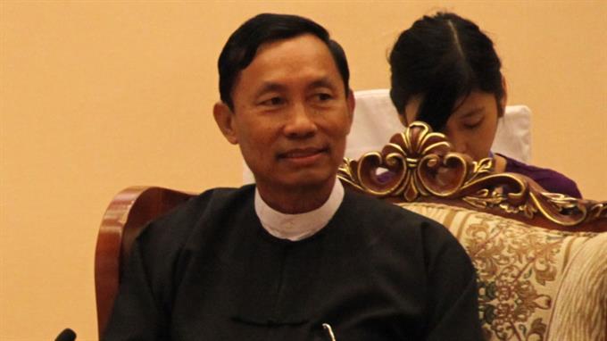 Reformpolitiker Shwe Mann: Knall auf Fall abgesetzt.