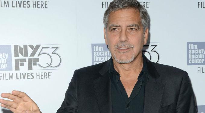 George Clooney zeigt Interesse an der Politik.