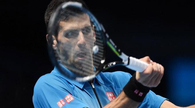 Novak Djokovic musste keinen Breakball abwehren.