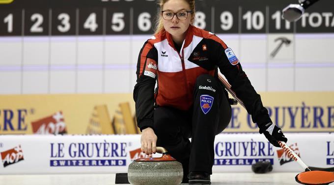 Alina Pätz vom Schweizer Curling-Team.