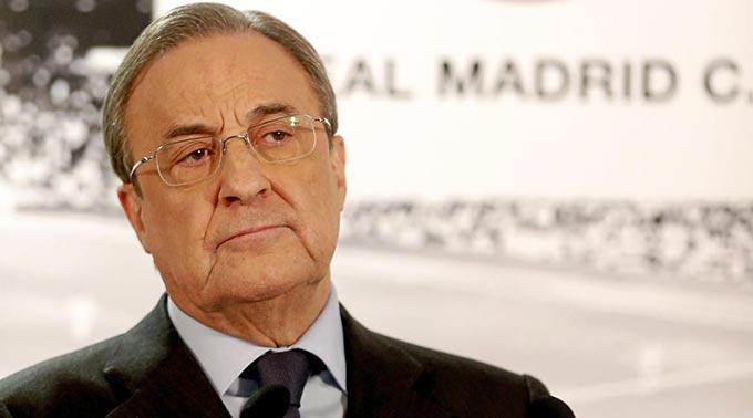 Florentino Perez, der Präsident von Real Madrid ist sicherlich alles andere als glücklich über den Entscheid der FIFA.