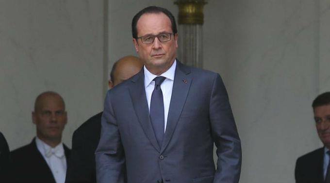 Hollande war bei der Landwirtschaftsmesse kein gern gesehener Gast.
