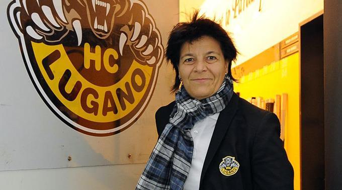 Vicky Mantegazza, Präsidentin HC Lugano.