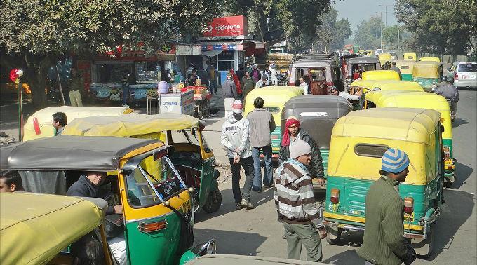 Neu Dheli gehärt zu den am schlimmsten verschmutzen Städten der Welt.