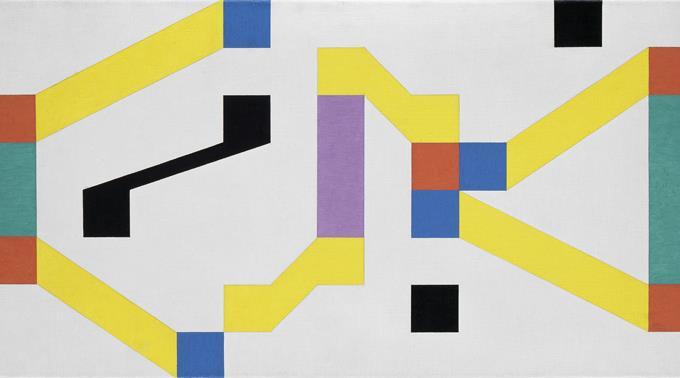 Camille Graeser, Harmonikale Konstruktion, 1947/51