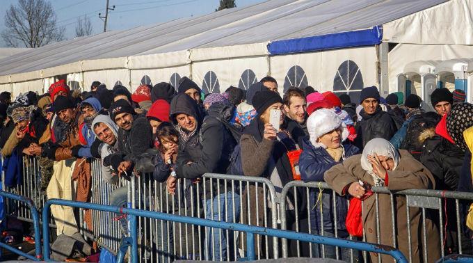 Mehr als 470'000 Flüchtlinge machten Halt in Slowenien.