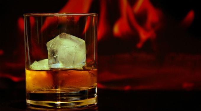 Whisky-Werbung als Stein des Anstosses. (Symbolbild)