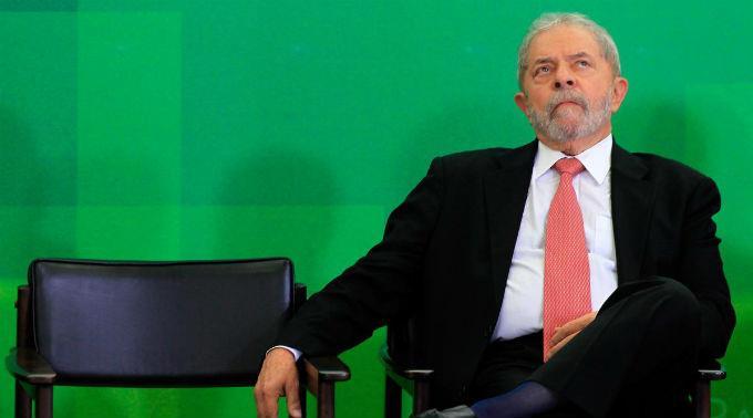 Luiz Inácio Lula da Silva ist nicht mehr geschützt.