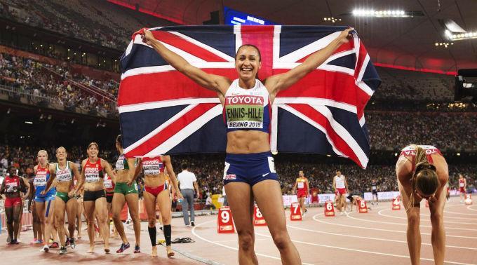 Jessica Ennis-Hill ist Weltmeisterin und Olympiasiegerin. (Archivbild)