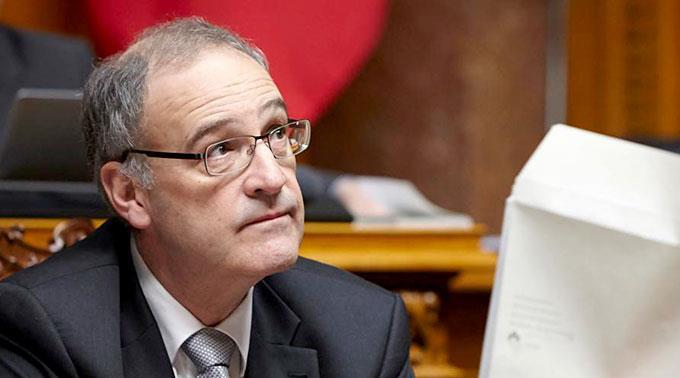 Bundesrat Guy Parmelin.