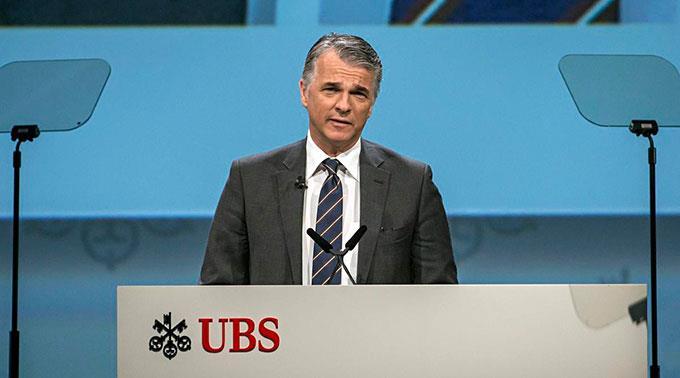 UBS CEO Sergio P. Ermotti.