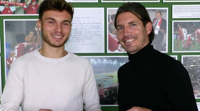 Dominik Schwizer wechselt per 1. Januar 2018 zum FC Thun.